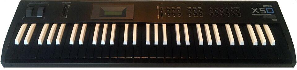 Synthesizer, Korg X5D - custom
