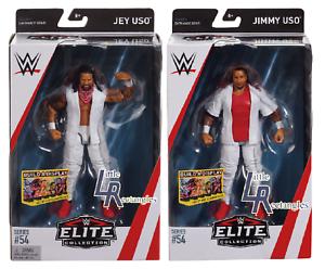 Mattel Elite-Nouveau-Scellé WWE Usos figurines-Jimmy Uso /& JEY USO les deux