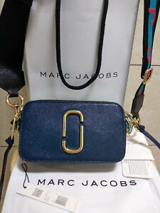 002546005ee Image is loading Genuine-Marc-Jacobs-Snapshot-Small-Camera-Bag-Crossbody-