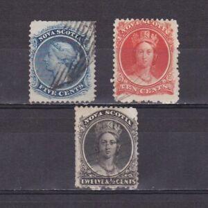 CANADA-NOVA-SCOTIA-1860-CV-97-Used