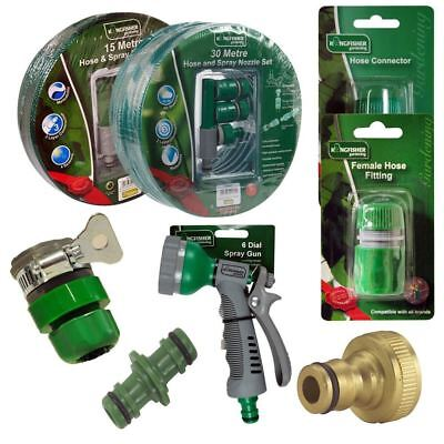 Kingfisher 9 Dial Garden Plants Watering Spray Lance With Snap On Hose Connector