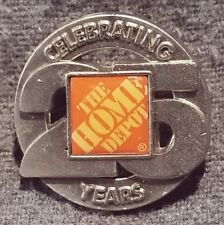 LMH PINBACK Pin HOME DEPOT Employee INFOCUS I/'m Keeping Shrink Safety In Focus