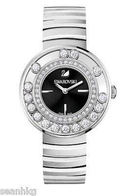 Swarovski Ladies' Watch Lovely Crystals Black, Metal Swiss Quartz MIB - 1160305