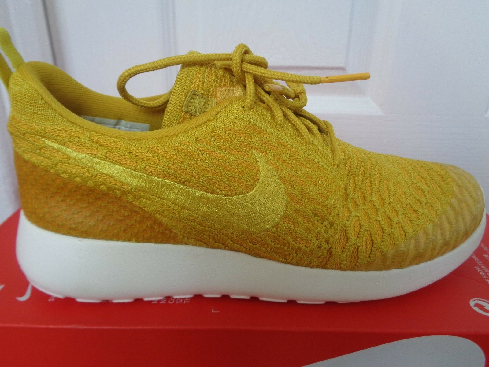 Nike Roshe one Flyknit femmes  uk trainers Baskets 704927 701 uk  4 eu 37.5 us 6.5 NEW b09792