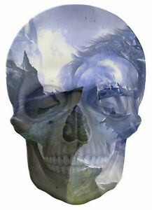 Gothic-Skull-Double-Exposure-Fantasy-Giant-Warrior-View-Wall-Sticker-Mural-715