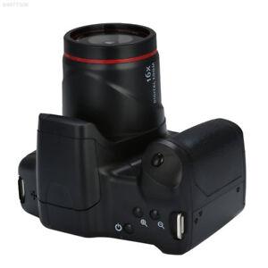 8FD3 Digital Camera 720P 16X ZOOM Premium Black Handheld DV Recorder Camcorder