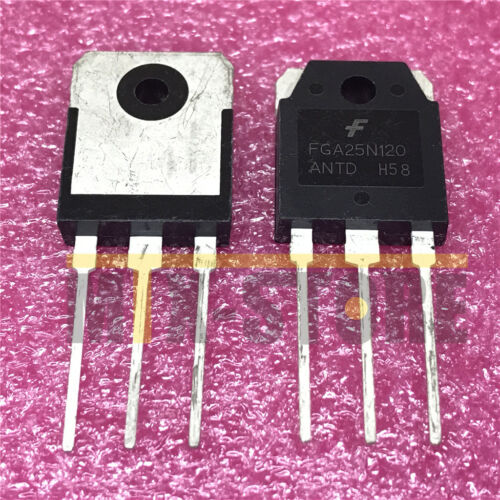 10PCS FGA25N120 FGA25N120ANTD New Best Offer IGBT 1200V 50A 312W TO3P