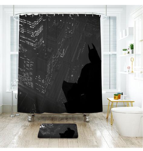 Batman Shower Curtain Waterproof Polyester Fabric Bath Curtain For The Bathroom