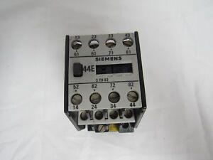 siemens 3th82 44 0a contactor relay 4no 4nc ebay rh ebay com