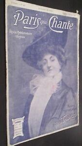 Revista Semanal Dibujada París Que Canta N º 143 Octubre 1905 ABE