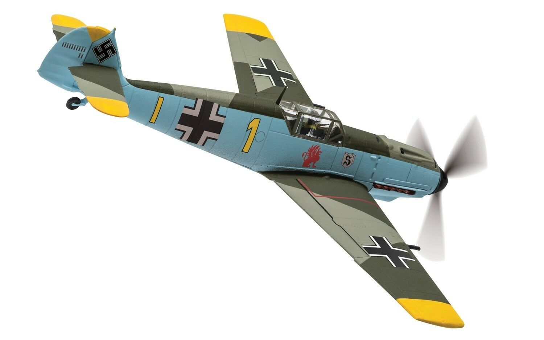 Corgi aviation messerschmitt bf109e-4 gerhard schopel, frankreich 1940 aa28004