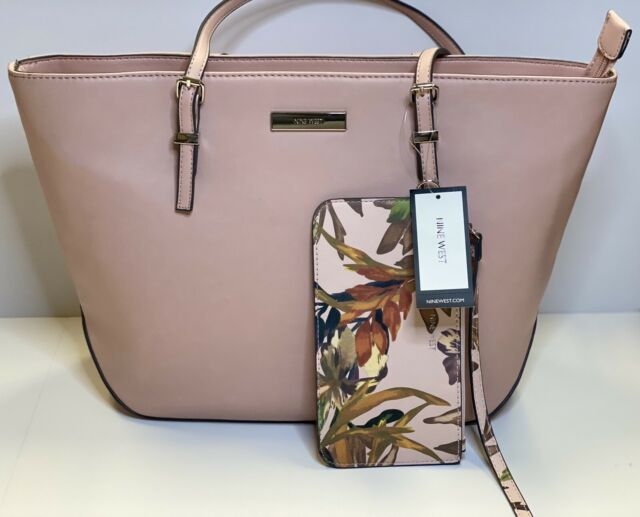 Nine West Society Girl Tote Women Pink