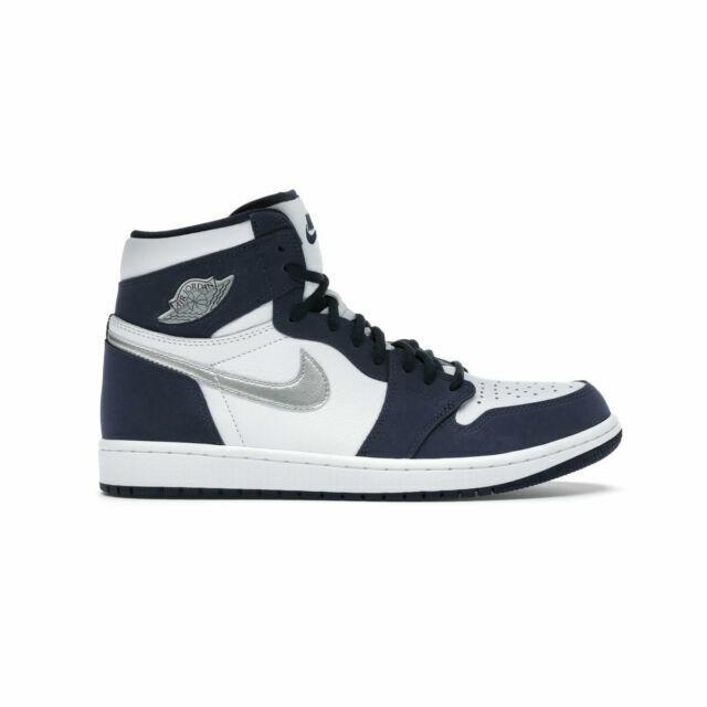 Size 4.5 - Jordan 1 Retro High co.JP Midnight Navy for sale online ...