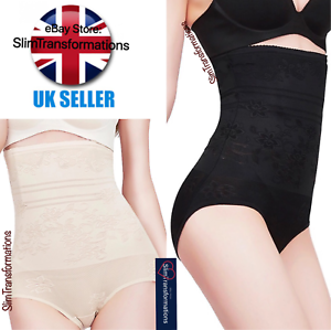 Ladies-Women-Ultra-Thin-Body-Shaping-High-Waist-Seamless-Slimming-Panty-Knickers