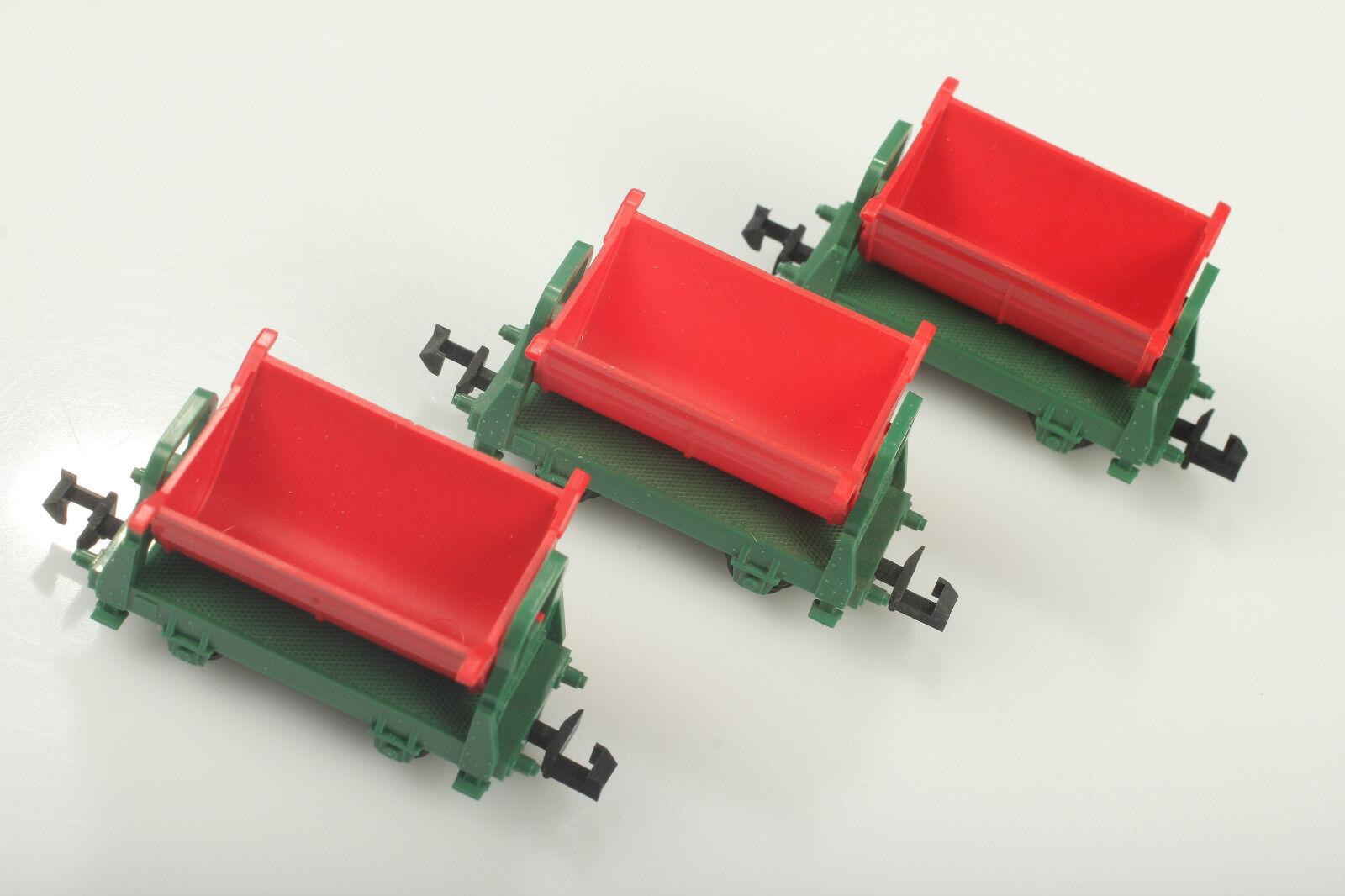Minitrix N 3 3 3 St. Kipploren Schmutz Mängel ohne OVP    Quality First  657fd8
