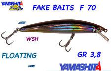 YAMASHITA MARIA MINNOW FAKE BAITS col WSH 70mm FLOATING