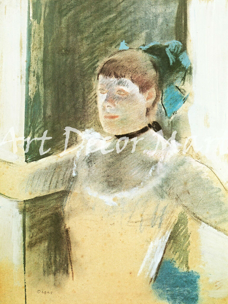 Bust of a Dancer, Degas - - CANVAS OR PRINT WALL ART