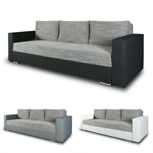 schlafsofa bird sofa mit schlaffunktion und bettkasten klappsofa schlafcouch ebay