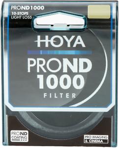 Hoya Pro ND1000 Neutral Density 10-Stop Filter 82mm