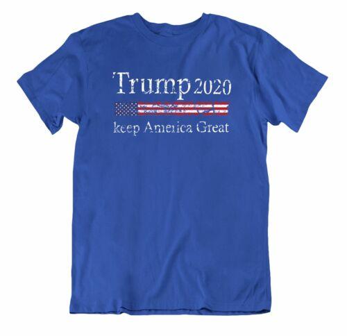 Trump Election 2020 America National Tee 2nd Amendment 100/% Cotton T-shirt