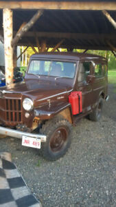 1957 Willys Jeep Wagon