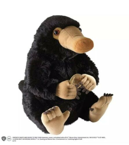 """OFFICIAL NIFFLER LARGE 13/"""" PLUSH SOFT TOY FANTASTIC BEASTS HARRY POTTER BNWT"""