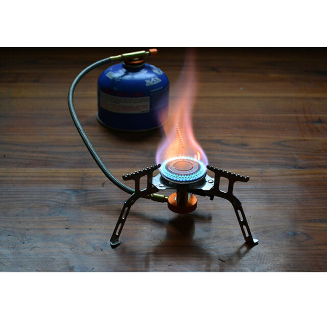 3500W Portable Gas Stove Quick Burner Fit For Outdoor Camping Hiking Picnic