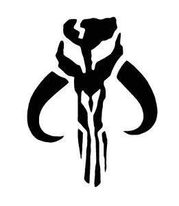 Cerakote-Duracoat-Stencil-Mandalorian-Bantha-Skull-Star-Wars-Airbrush-Painting