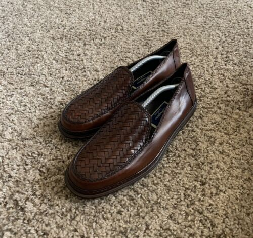 Cole Haan Bragano Woven Driving Loafers Men's Size