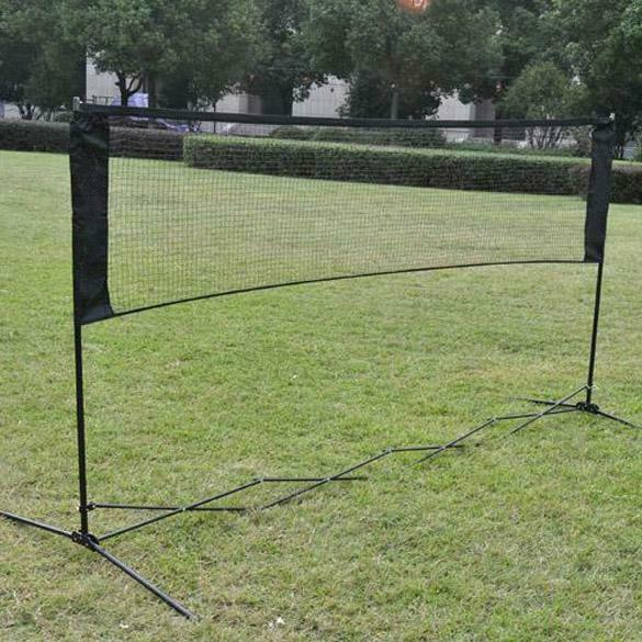 Large 5m Adjustable Mini Foldable Badminton Tennis Volleyball Net UK