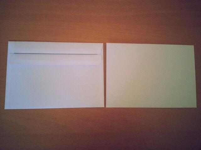 Briefumschläge Umschlag Brief DIN C6 114x162 mm selbstklebend ohne Fenster