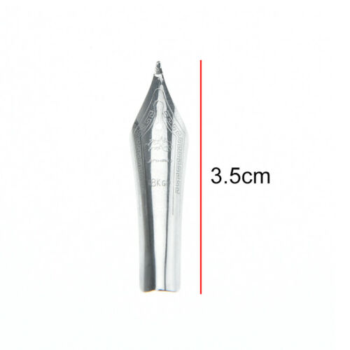 1pc x750 159 silver fountain pen curved tip diy for jinhao G9