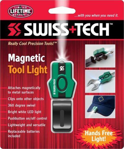ST33360 SwissTech MAGNETIC TOOL Light Magnetic Light /& Versatile with Clip