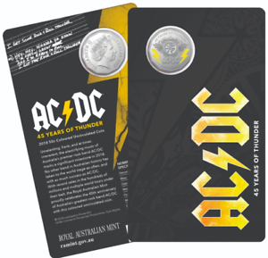 AC-DC-50c-cent-coin-Mint-Carded-45-YEARS-OF-THUNDER-1-AC-DC-GUITAR-PLECTRUM