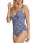 Miraclesuit-Womens-Blue-Majorca-Sanibel-One-Piece-Swimsuit-Sz-14-6703 miniature 2