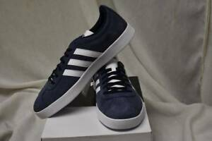 15514dc96 Adidas NEO VL Court 2.0 Mens Sizes 11.5 13 14 Medium Suede Sneakers ...