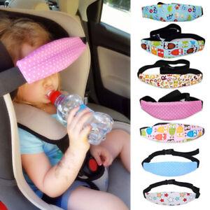 Baby Head Support Stroller Car Seat Fastening Belt Sleep Safety ...
