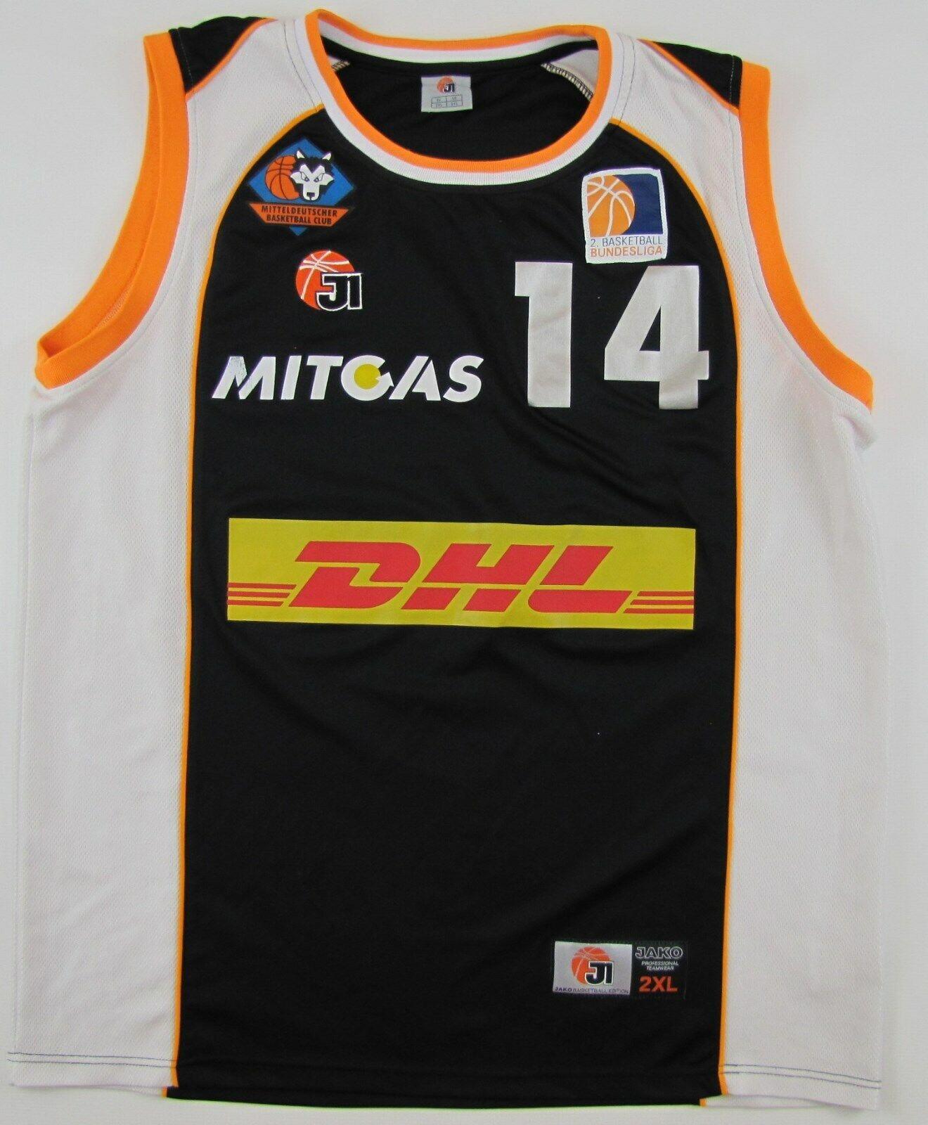 Mitteldeutscher BC Basketball Club 2008 09 \\\' Jako Matchwear Spieelertrikot 2XL