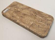 Apple Iphone 4 4S cover case protective hard back wood grain wooden oak beach