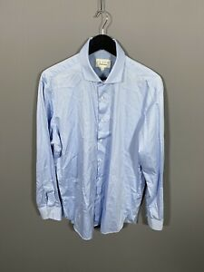 TED-BAKER-ENDURANCE-Shirt-17-Blue-Great-Condition-Men-s