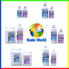 Epoxy Resin Starter Kit Clear Art Fast Cure 12h 150g/250g/500g/1kg/2kg/3.5kg/5kg