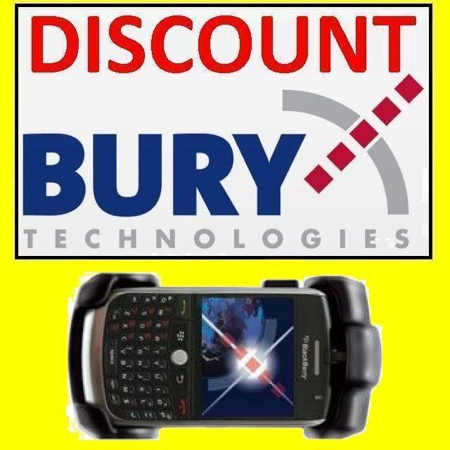Bury Cradle: Blackberry 8900 Curve/Javelin [THB System 8 Take & Talk Holder]
