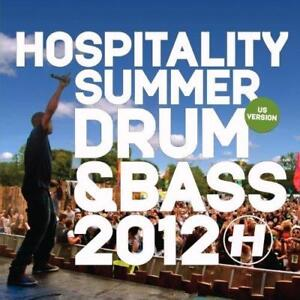 Hospitality-Summer-Drum-And-Bass-2012-Various-Artists-NEW-CD