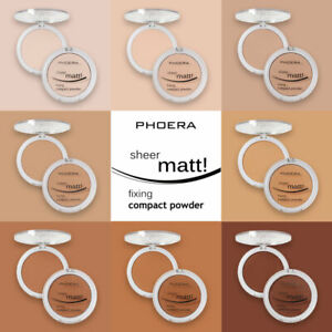 PHOERA-Sheer-Matte-Fixing-Compact-Face-powder-Bare-Skin-Vitamin-E-Pressed-powder