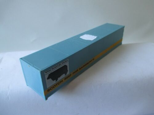 """OVP wh2676 RÖWA h0 5022 container 40/' SCOTCH Beef for Sainsbury/'S /""""vedi foto O"""
