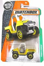 Matchbox Metal 2016 Four X Force 4X4 Side By Side Rough Country!