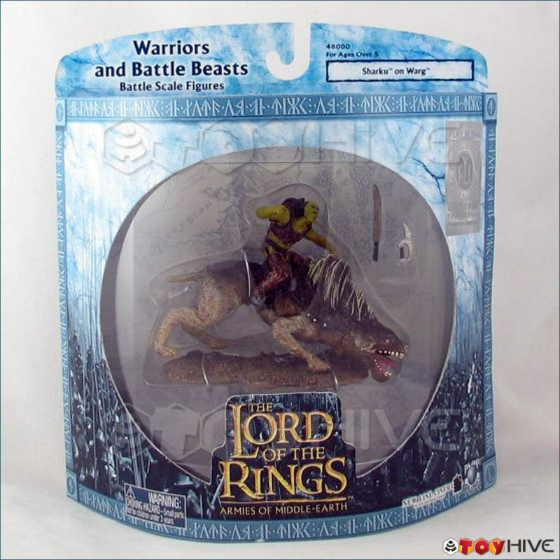 Lord of the Rings Armies of Middle Earth -  Sharku on Warg 1st 100  Hologram