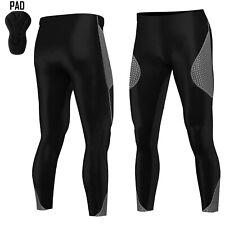 1724b4b183 item 2 Mens Super Cycling Tights Padded Compression Trousers Leggings Long  Anti-Bac -Mens Super Cycling Tights Padded Compression Trousers Leggings  Long ...