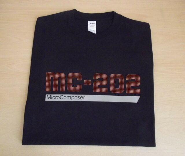 RETRO SYNTH MC 202 COLOUR DESIGN T SHIRT ROLAND SH SERIES 100 S M L XL XXL