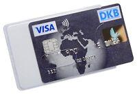 Kartenhüllen Weiß Transparent Stabil Magnetkarten Schutzhülle Ausweis Perso